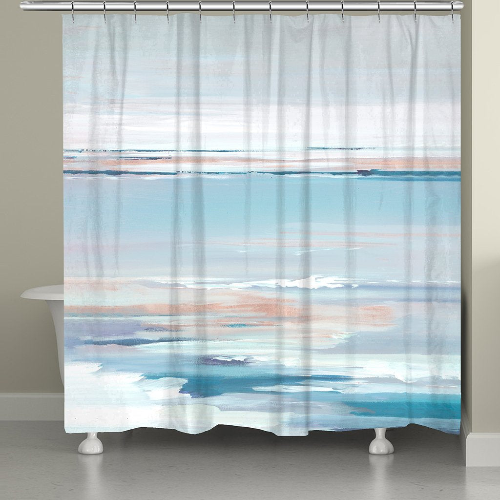Pastel Horizon Shower Curtain