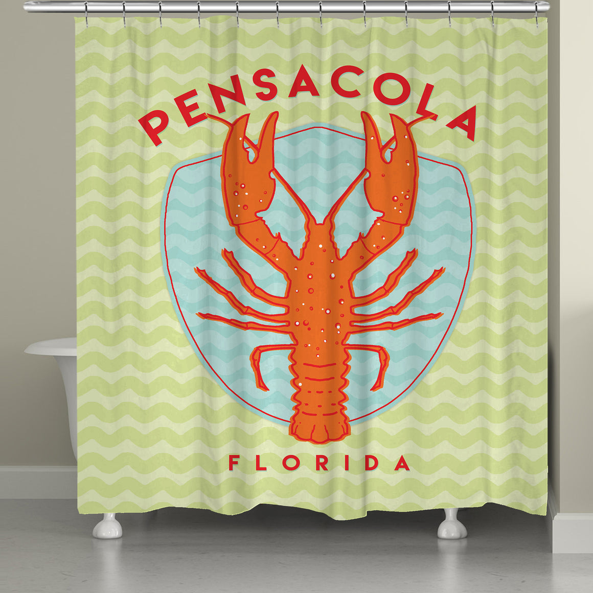 Pensacola Shower Curtain