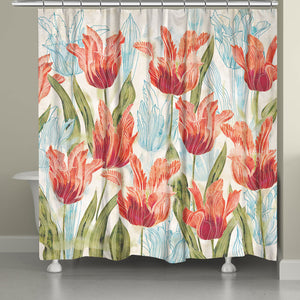 Perennial Garden Shower Curtain