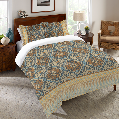 Persian Patchwork Antique II Duvet Cover