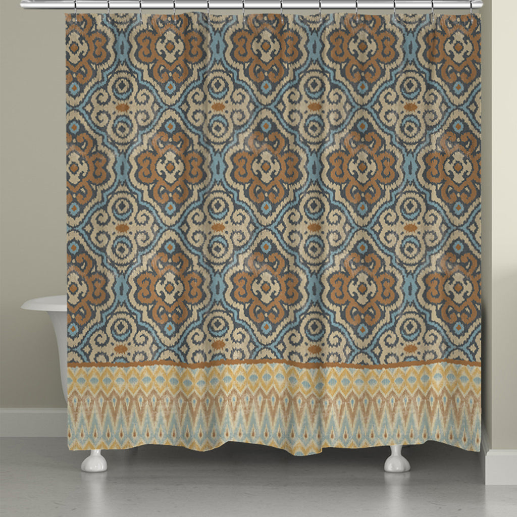 Persian Patchwork Antique II Shower Curtain