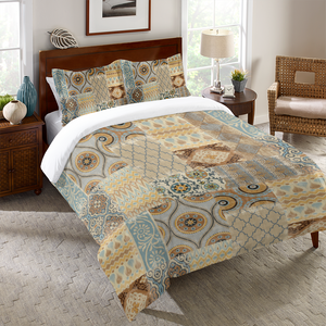 Persian Patchwork Antique Duvet Cover