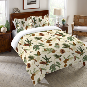Pinecone Duvet Cover