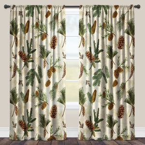 Pinecone Sheer Window Panel