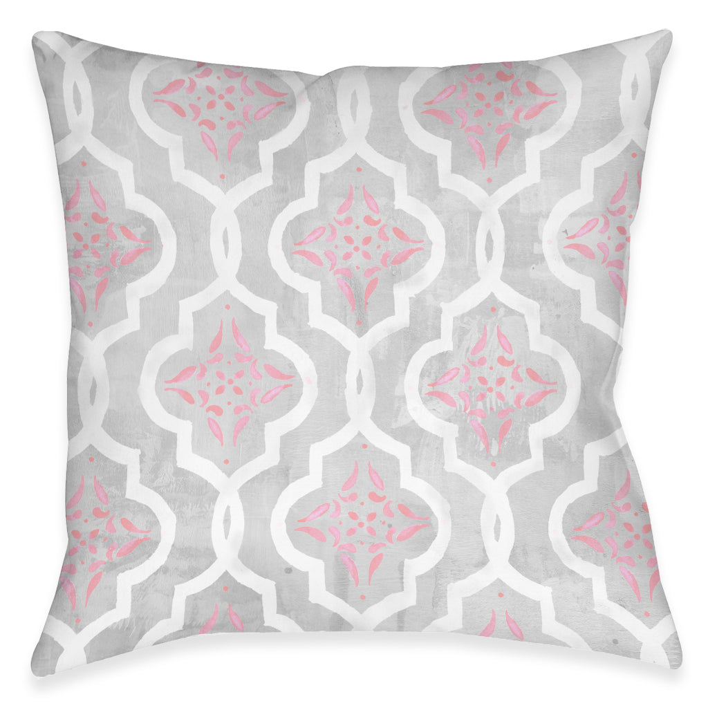 Pink Elegance Indoor Decorative Pillow