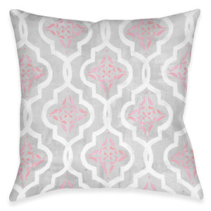 Pink Elegance Outdoor Decorative Pillow