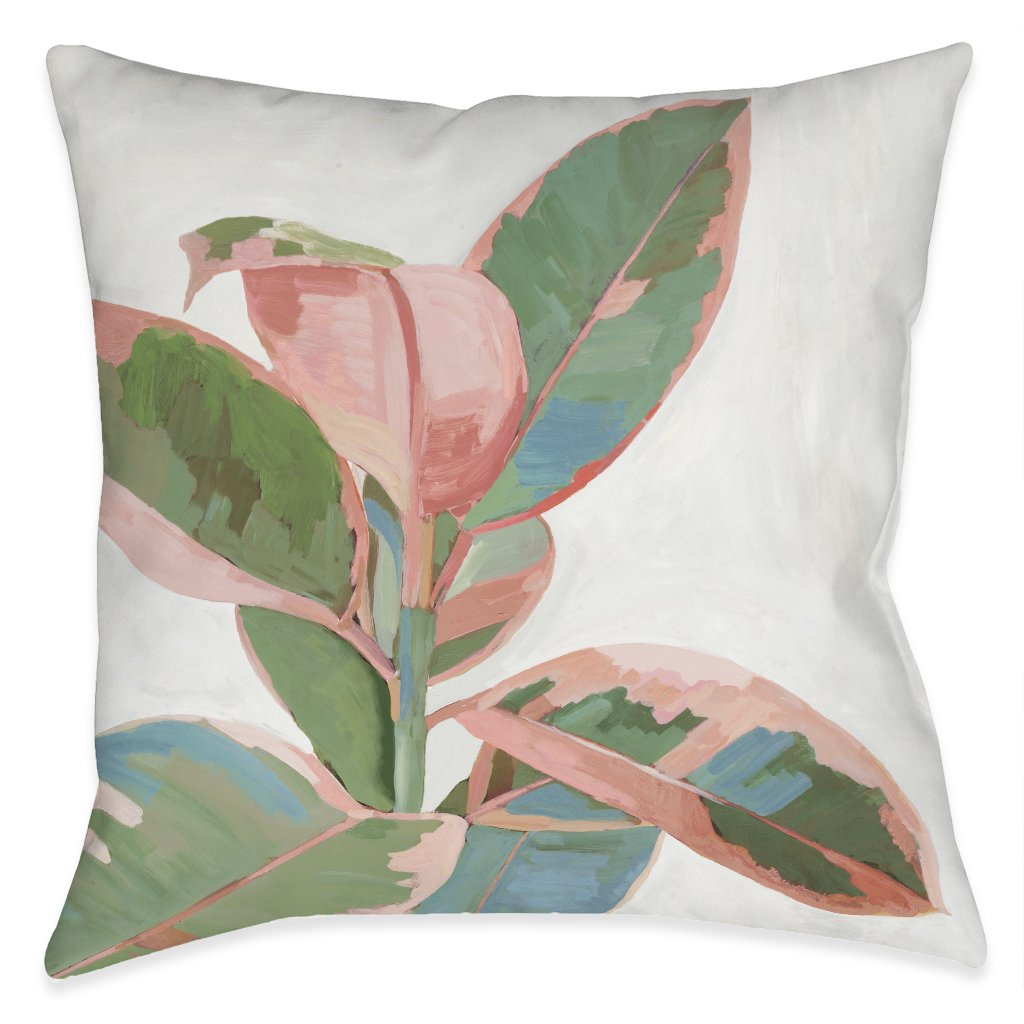Plant Life Outdoor Decorative Pillow