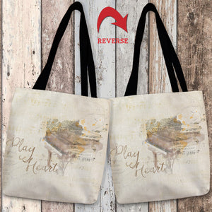 Play From Your Heart Tote Bag