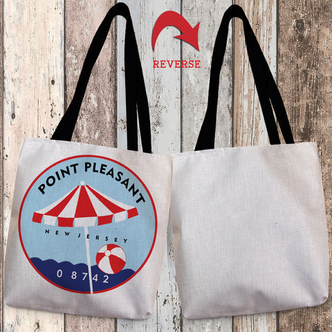 Point Pleasant II Canvas Tote Bag
