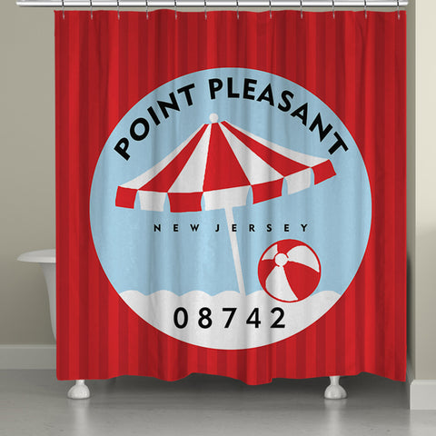 Point Pleasant I Shower Curtain