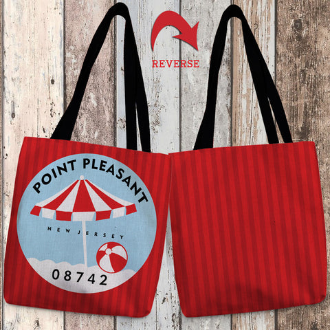 Point Pleasant I Canvas Tote Bag