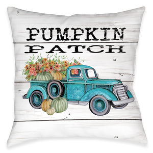 Pumpkin Harvest Indoor Decorative Pillow