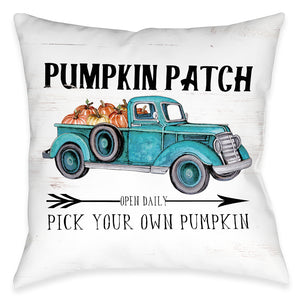 Pumpkin Patch Indoor Decorative Pillow