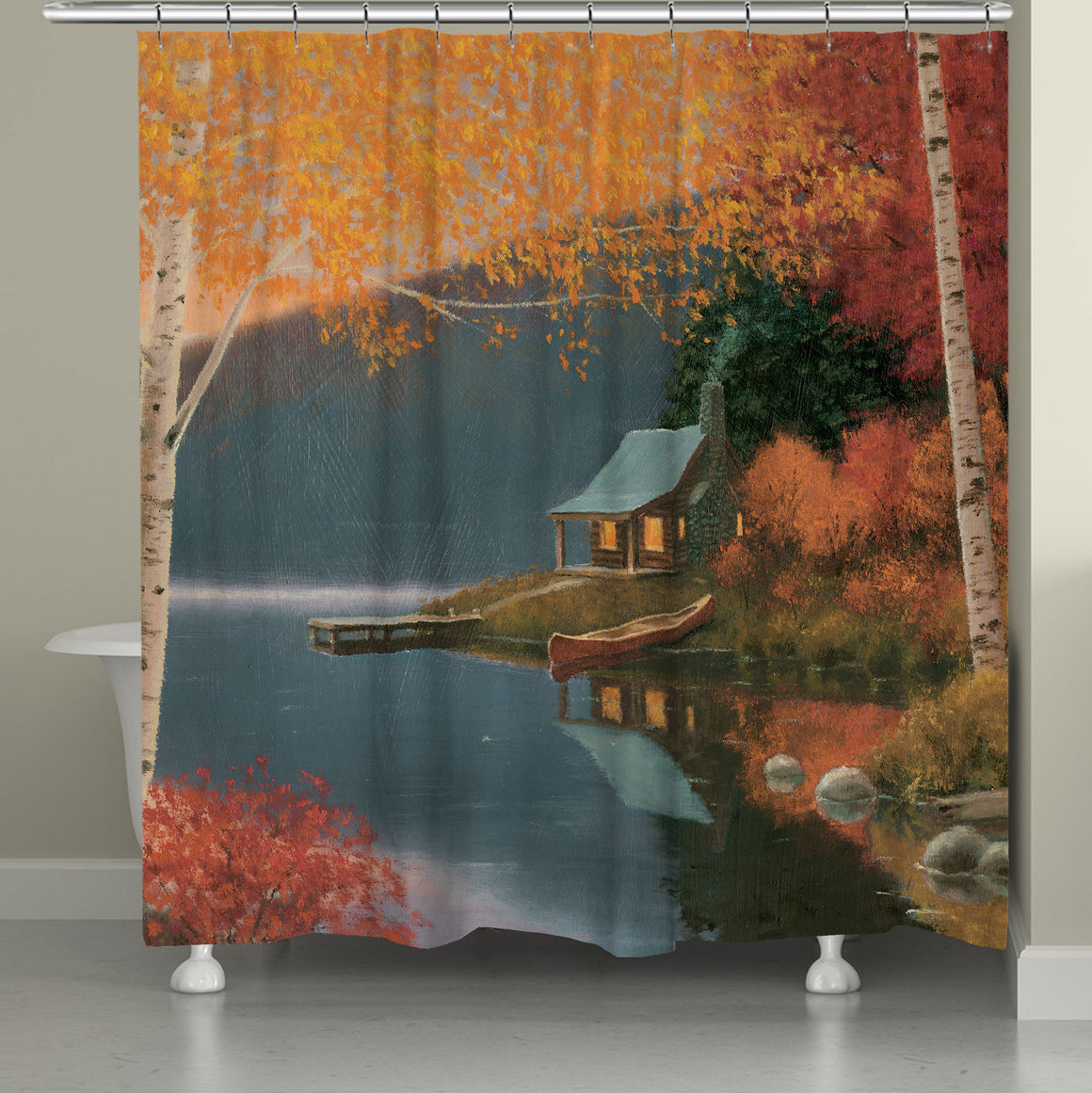 Quiet Evening Shower Curtain