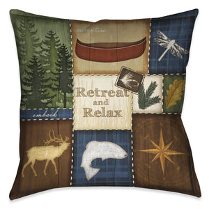 Retreat & Relax Indoor Decorative Pillow