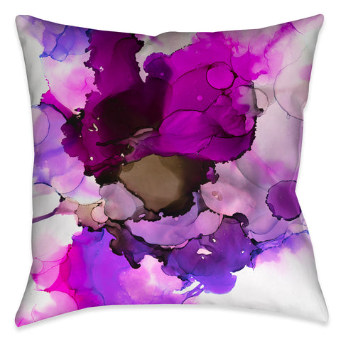 Radiant Jewel Tones Outdoor Decorative Pillow