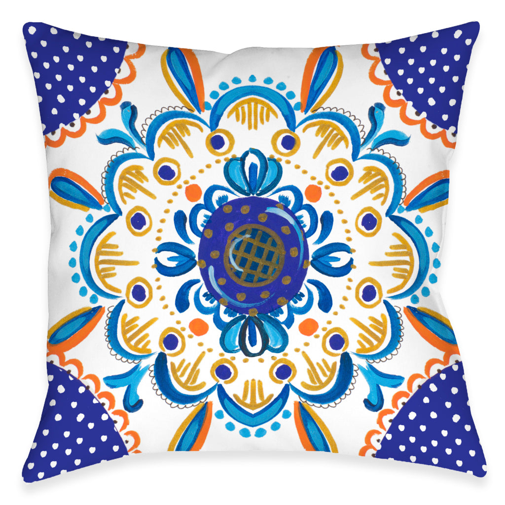 Rainbow Majesty Outdoor Decorative Pillow