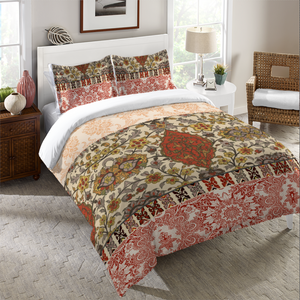 Red Spice Bohemian Tapestry Duvet Cover