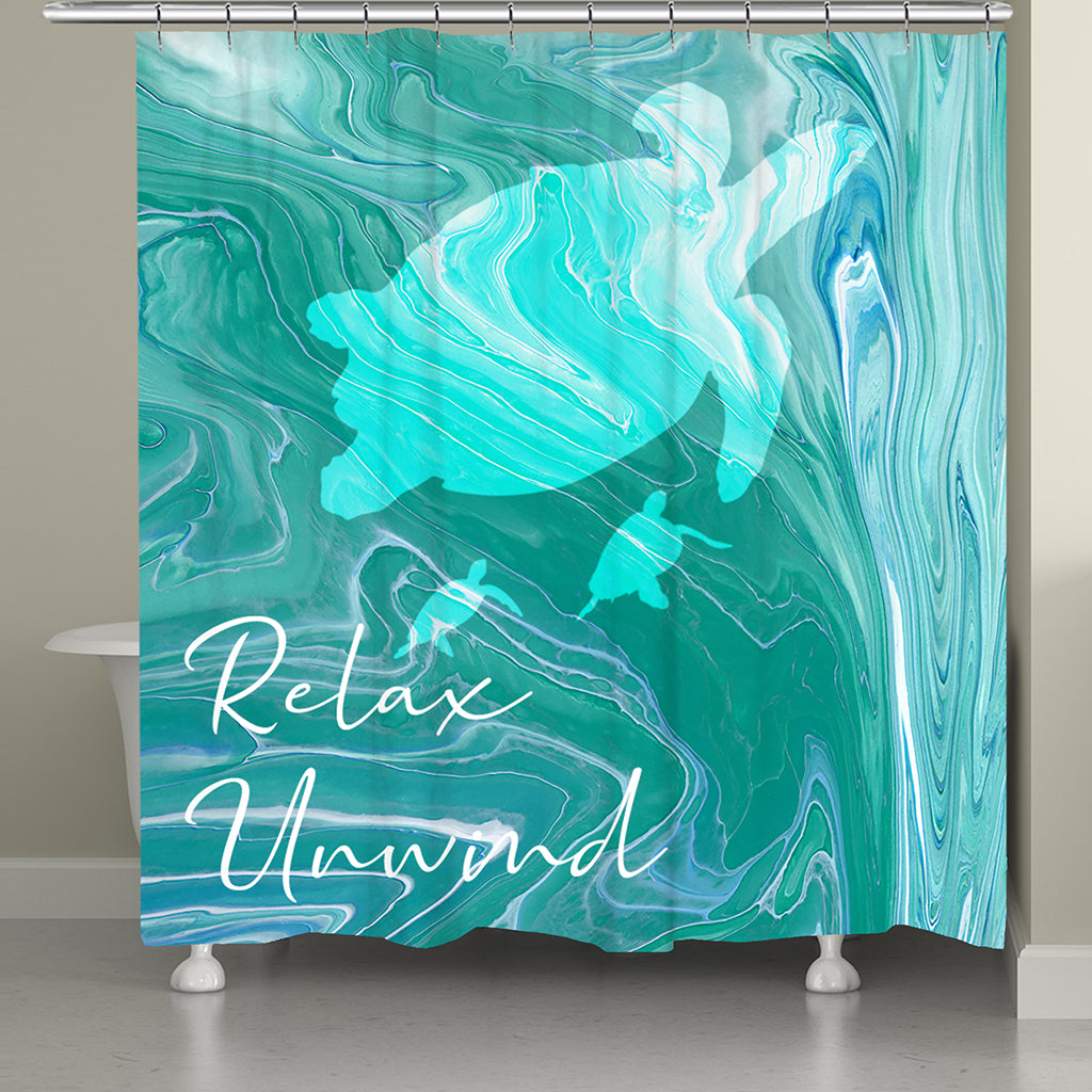 Relax & Unwind Shower Curtain
