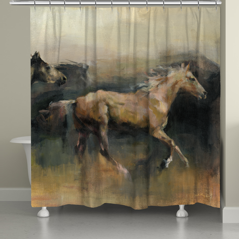 Roaming the West Shower Curtain
