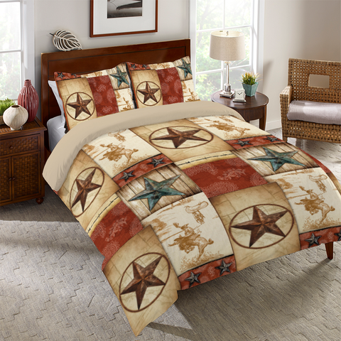 Rodeo Patch Comforter
