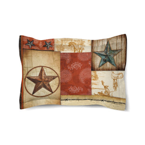 Rodeo Patch Comforter Sham