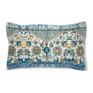 Royal Blue Bohemian Tapestry Duvet Sham