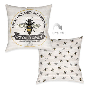 Royal Honey Outdoor Decorative Pillow