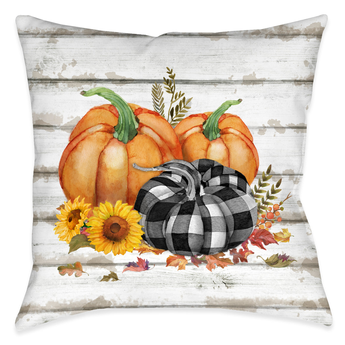 Rustic Fall Indoor Decorative Pillow