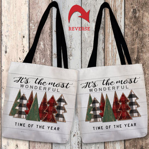 Rustic Christmas Tote Bag