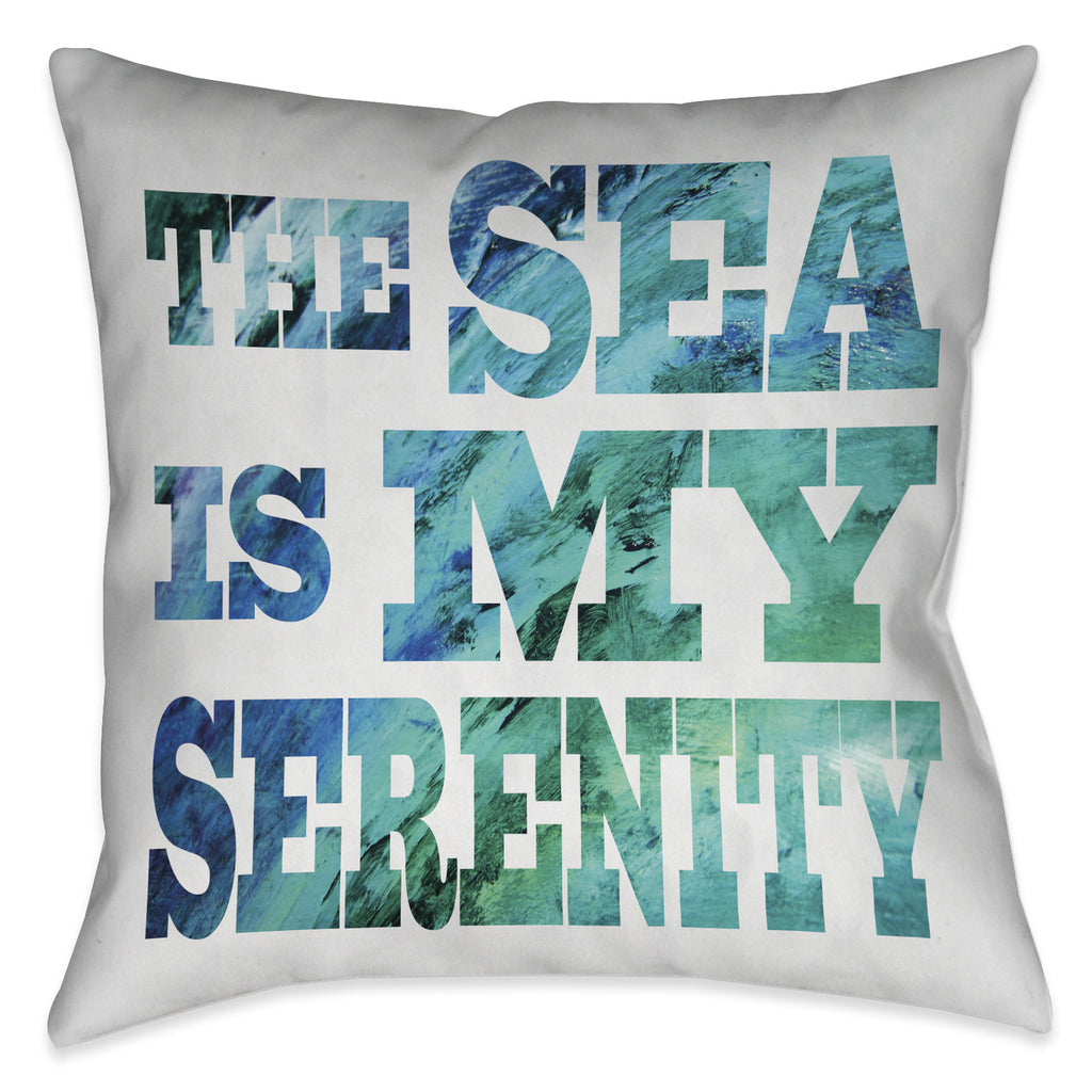 Sea Serenity Indoor Decorative Pillow