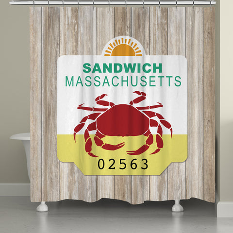 Sandwich Shower Curtain