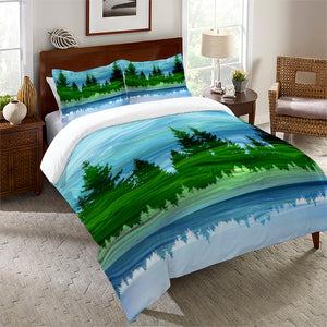 Scenic Forest Comforter
