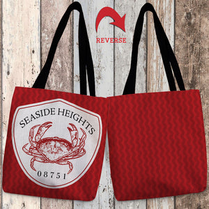 Seaside Heights II Canvas Tote Bag
