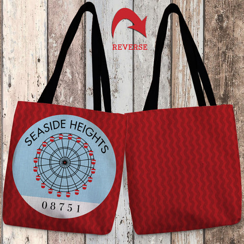 Seaside Heights I Canvas Tote Bag