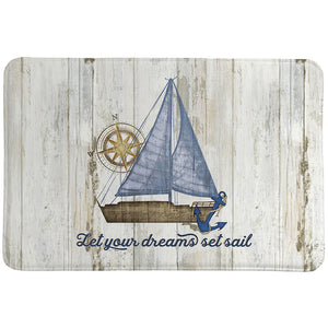 Set Sail Memory Foam Rug