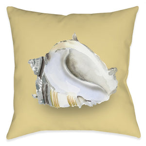 Shell Ashore Outdoor Decorative Pillow