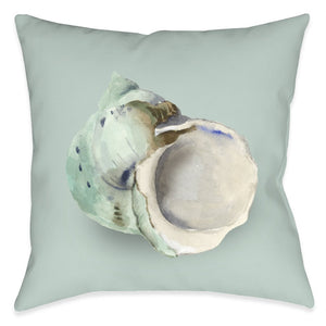 Shell Pearl Outdoor Decorative Pillow