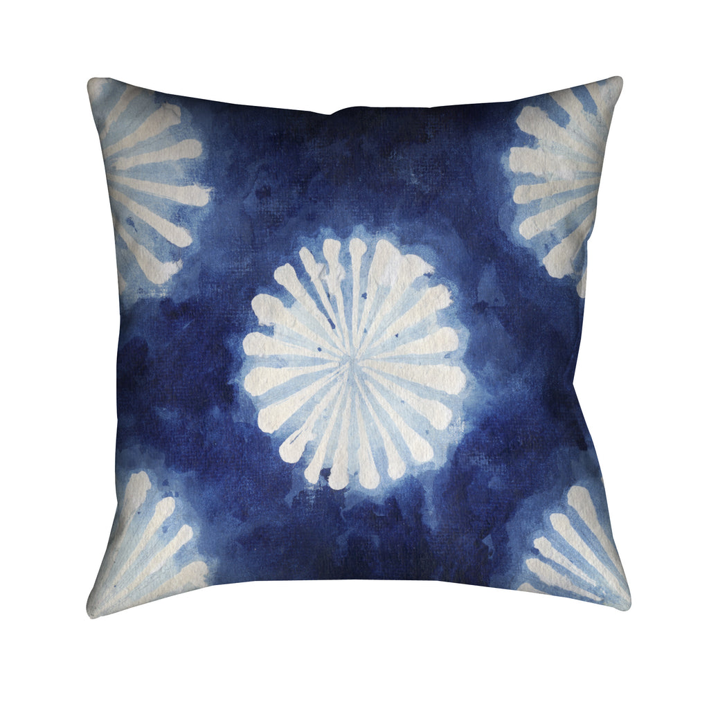 Shibori III Outdoor Decorative Pillow