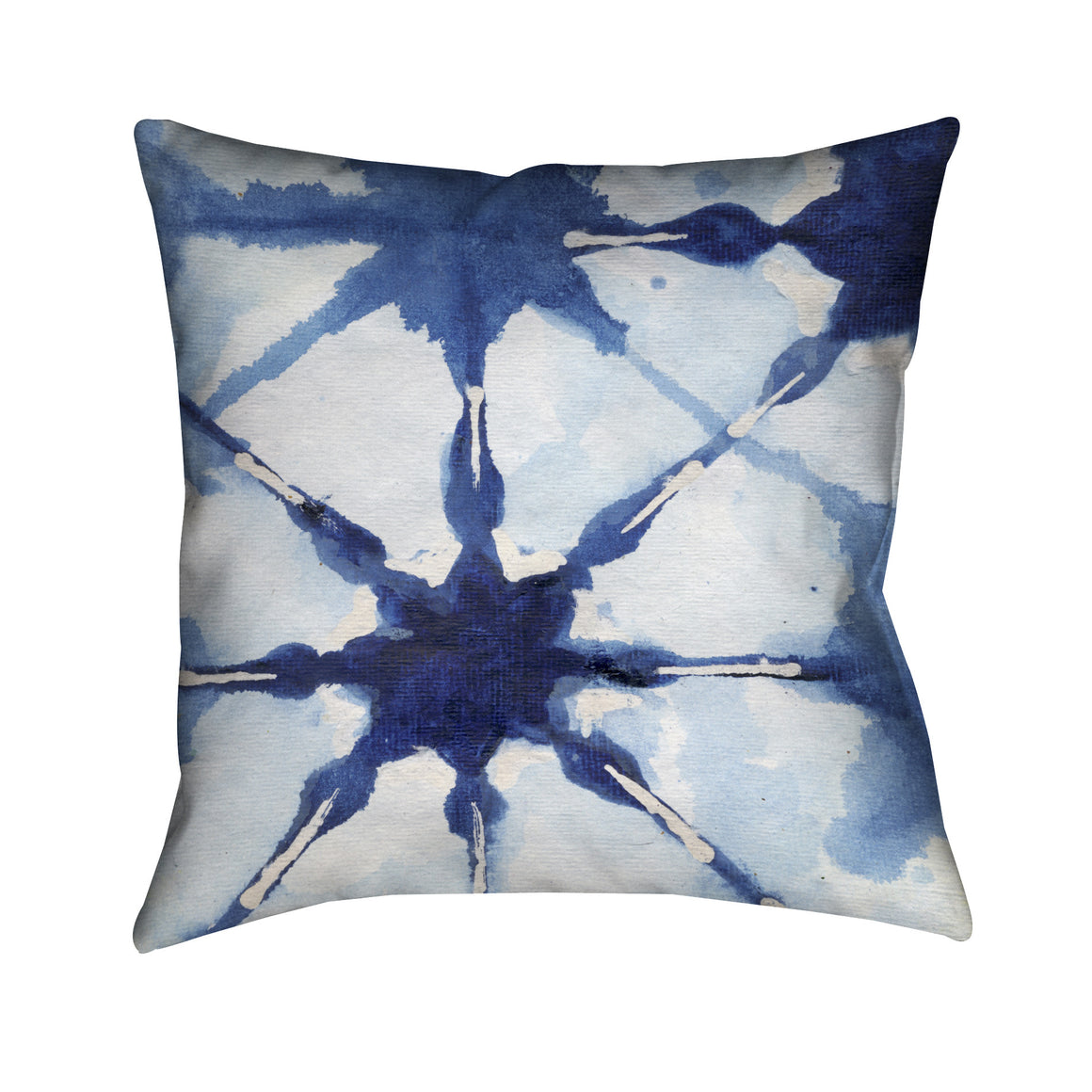 Shibori II Outdoor Decorative Pillow