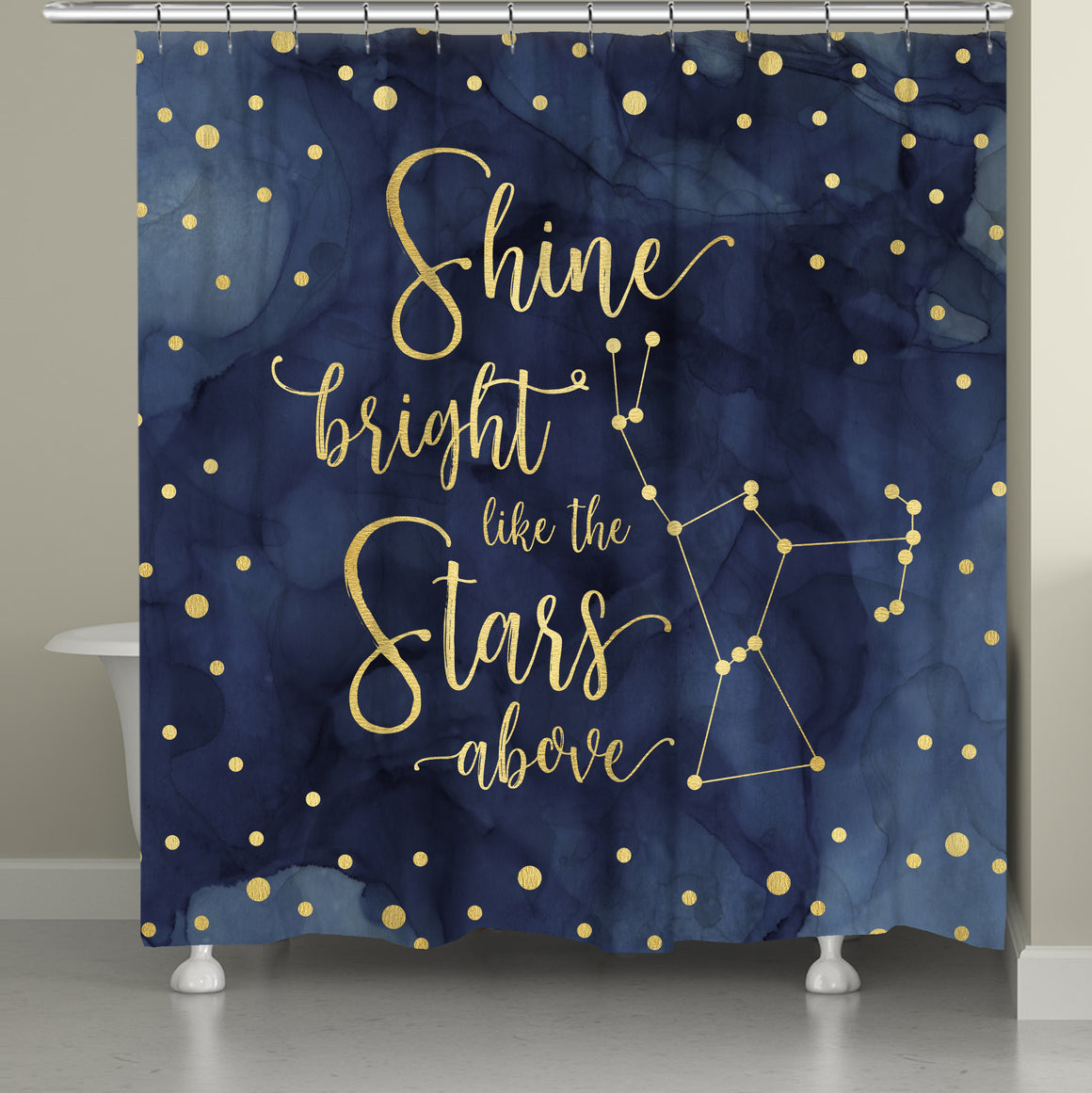 Shine Bright Shower Curtain