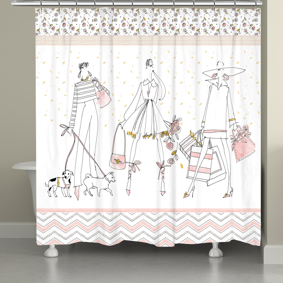 Shop Away Shower Curtain