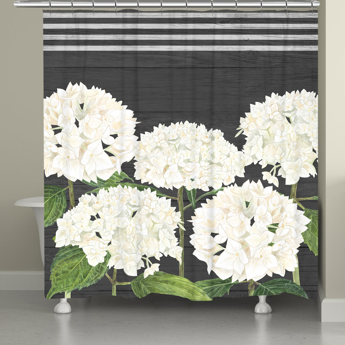 Simple Beauty Shower Curtain