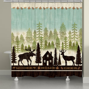 Simple Living Shower Curtain