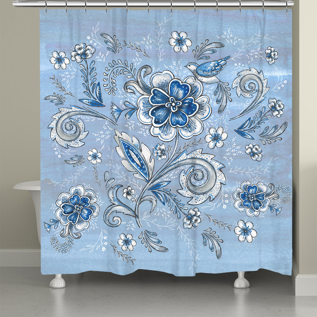 Sky Way Shower Curtain