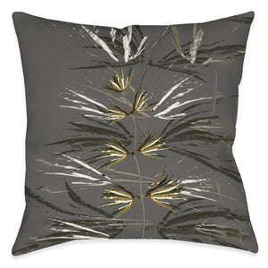 Smoky Sparks Outdoor Decorative Pillow