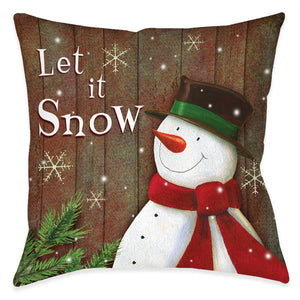 Snowy Season Indoor Decorative Pillow