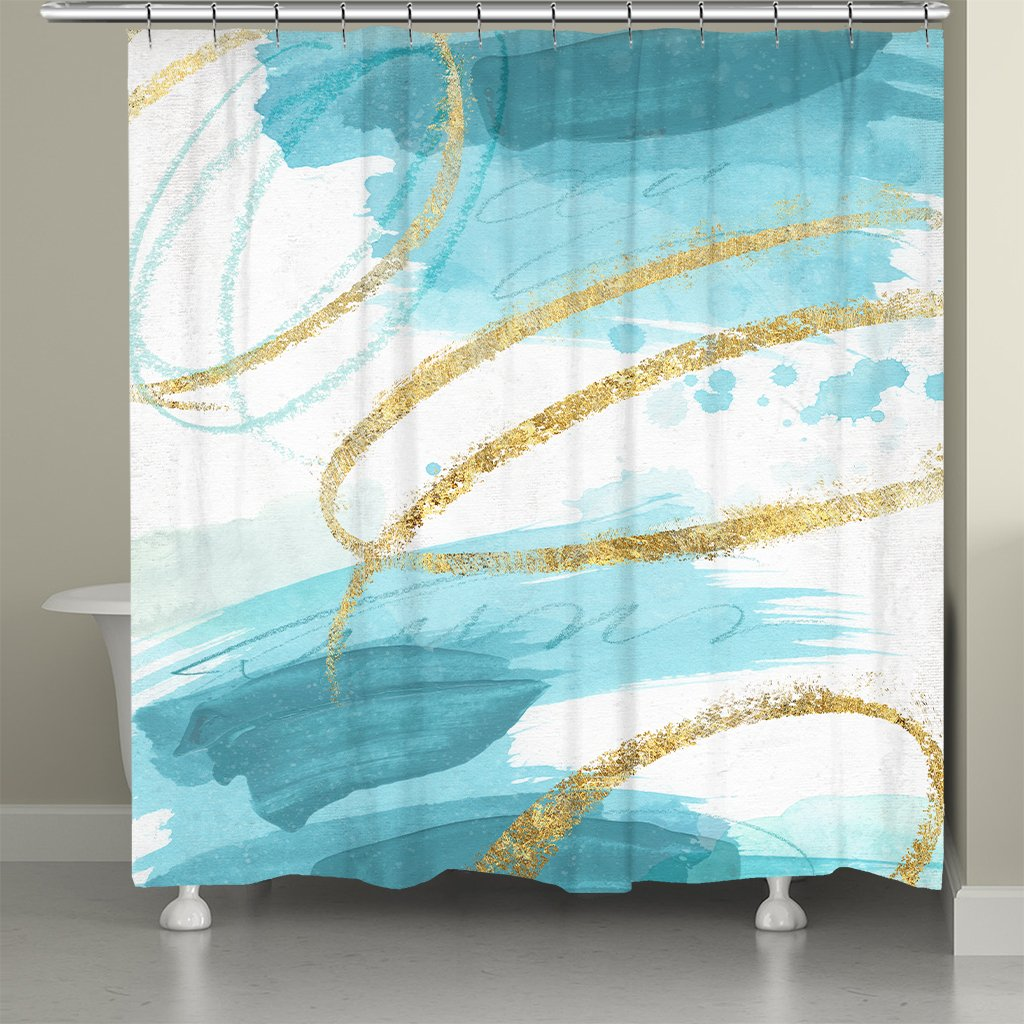 So Cal Cool Shower Curtain