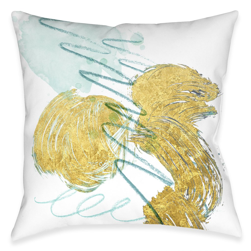 So Cal Gold Indoor Decorative Pillow