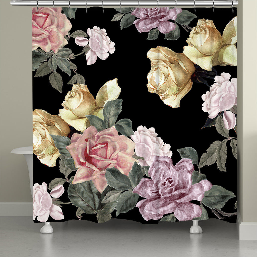 Sophia Floral Shower Curtain